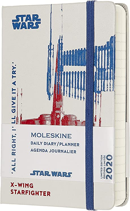 Moleskine Limited Edition Star Wars 12 Month 2020 Daily Planner, Hard Cover, Pocket (3.5