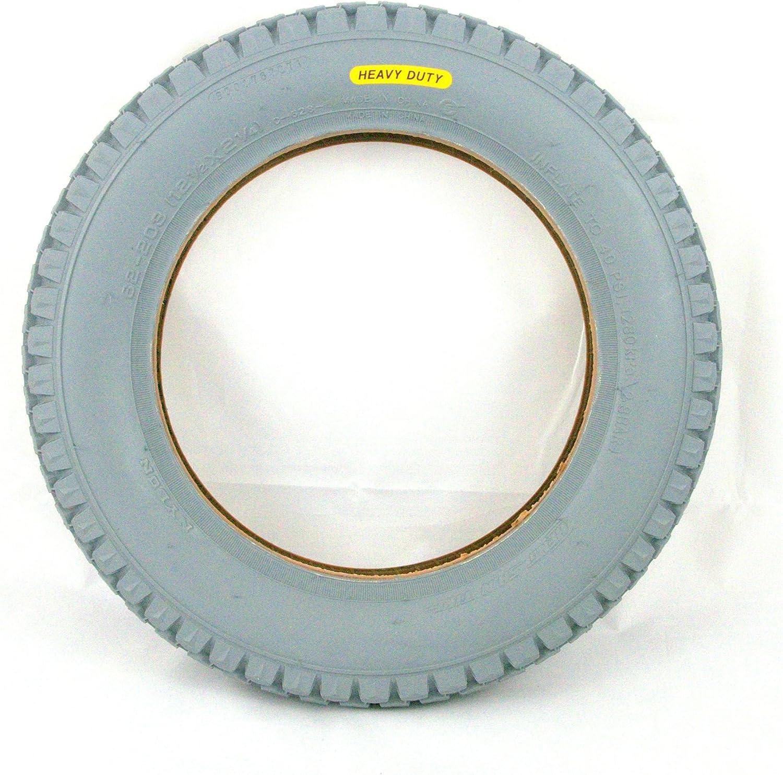 121/2x 21/4Resistente Silla de Ruedas neumático por Cheng Shin también se Adapta eléctrica Granate
