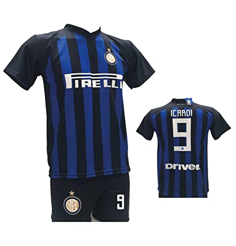 Nike Inter FC Maglia ICARDI Home 2017 18 (M): Amazon.it