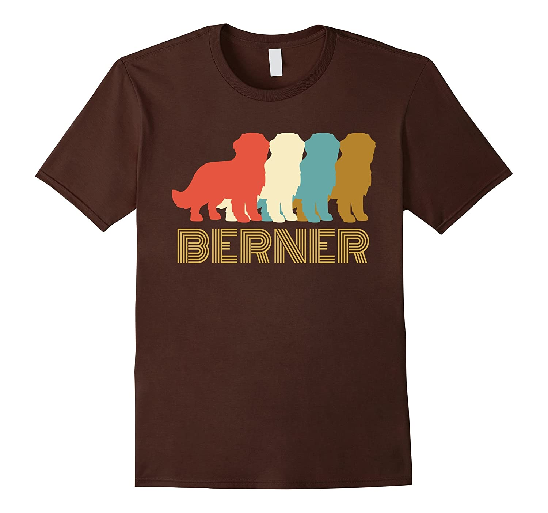 Vintage Bernese Mountain Dog T-shirt, I Love My Berner-4LVS