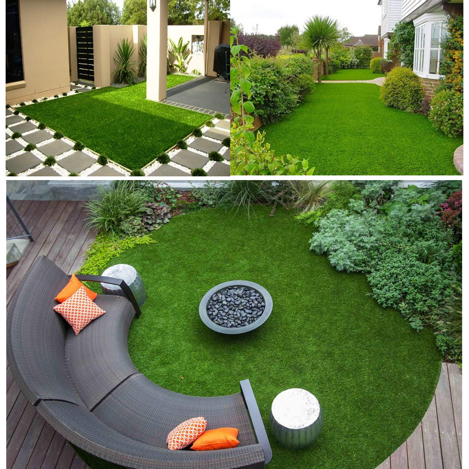 Amazon.com: Scorbio Artificial Grass Mat Synthetic Grass ...