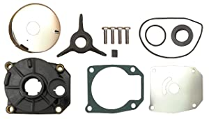 Evinrude Johnson 40 48 50 HP Water Pump Impeller Kit Fits 1989 to 2005 Replaces: 438592