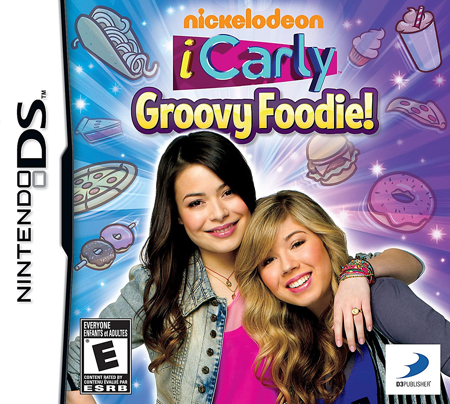 Amazon Com Icarly Groovy Foodie Nintendo Ds D3 Publisher Of America Video Games