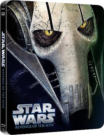 Amazon Com Star Wars Revenge Of The Sith Steelbook Blu Ray Ewan Mcgregor Hayden Christensen Natalie Portman George Lucas Movies Tv