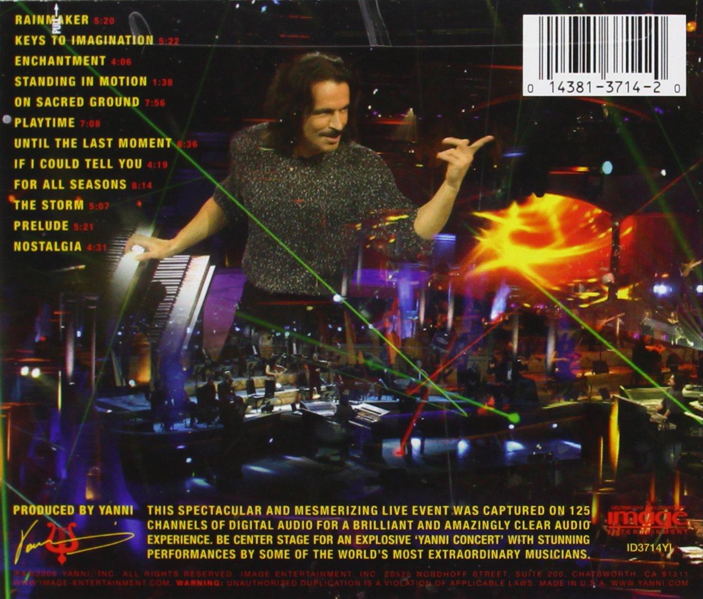 concert de yanni 2006 gratuit