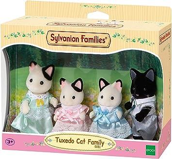 Amazon.es: Sylvanian Families-5054131051818 Animales Familia gatos esmoquin (Epoch para Imaginar 5181), color/modelo surtido: Juguetes y juegos