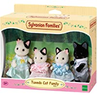 Sylvanian Families 5181 Tuxedo Cat Family,Figure