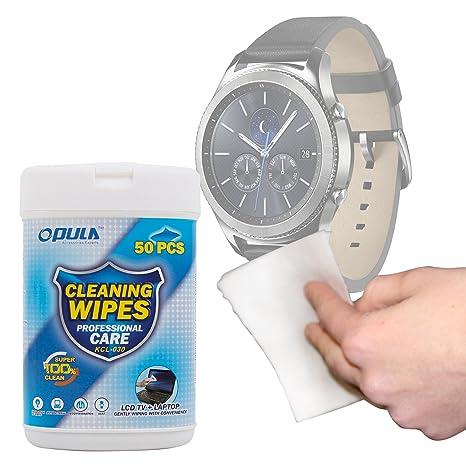 DURAGADGET Toallitas para Smartwatch Garmin Forerunner 35 ...
