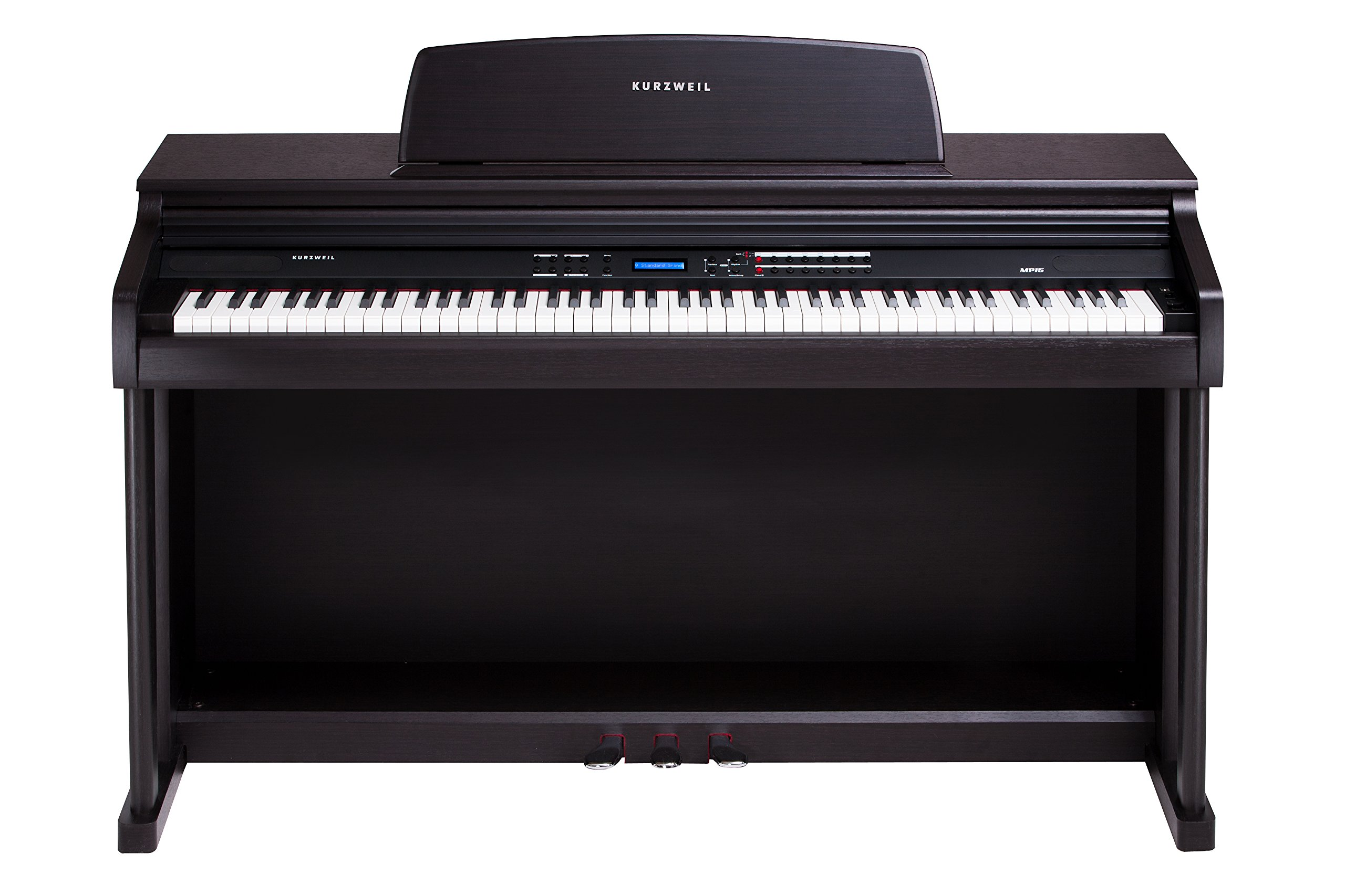 Kurzweil MP15 Student/Teacher Digital Piano, Rosewood