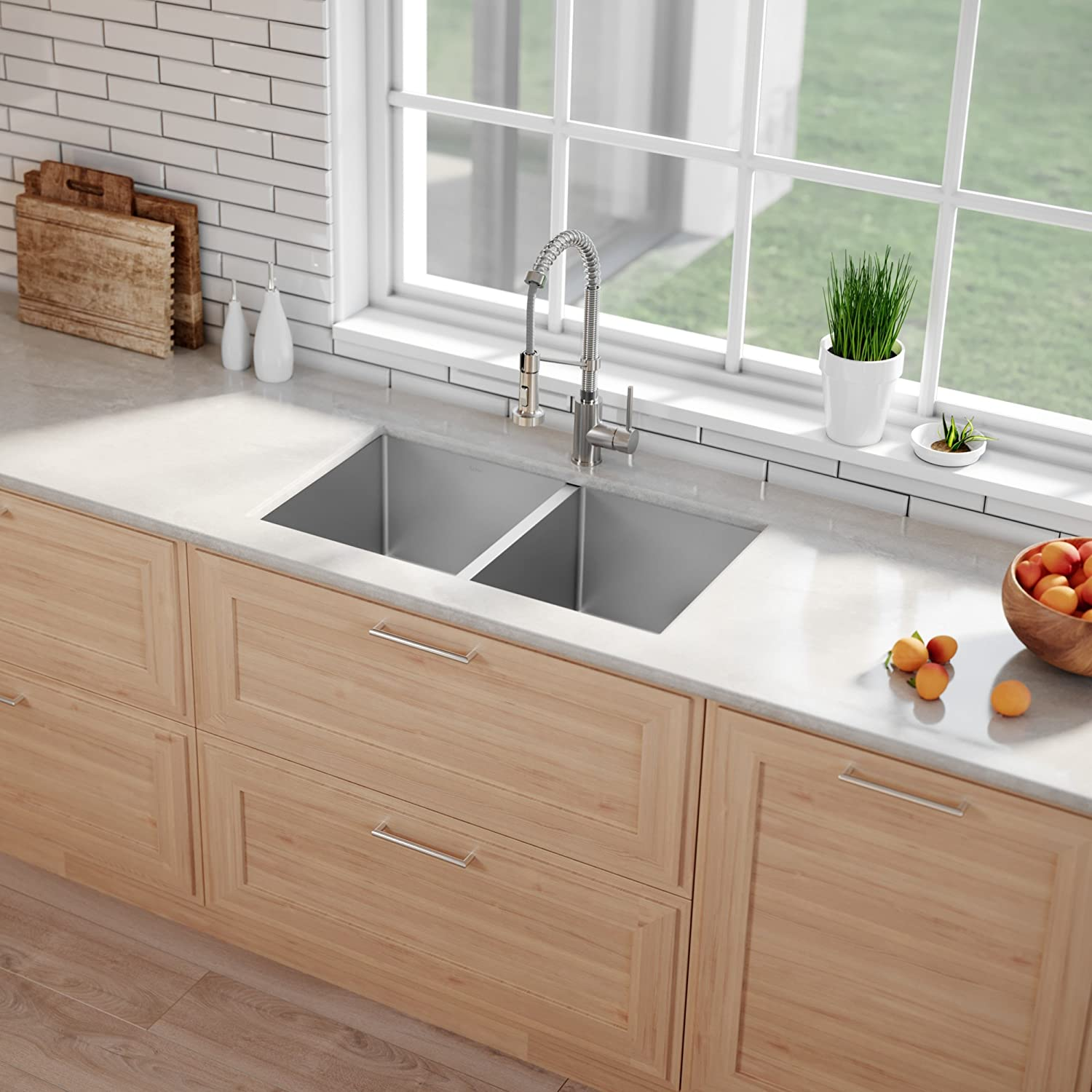 kraus stainless steel sink reviews