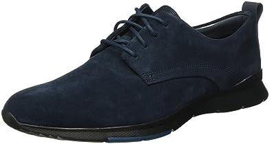 5969411edbc1b Clarks Men's Tynamo Walk Navy Suede Leather Sneakers-7 UK/India (41 ...