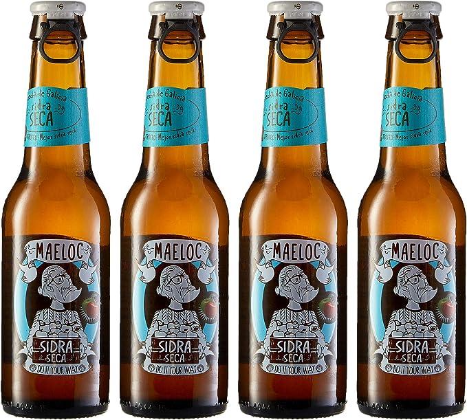 Maeloc Sidra Seca - Pack de 4 x 200 ml