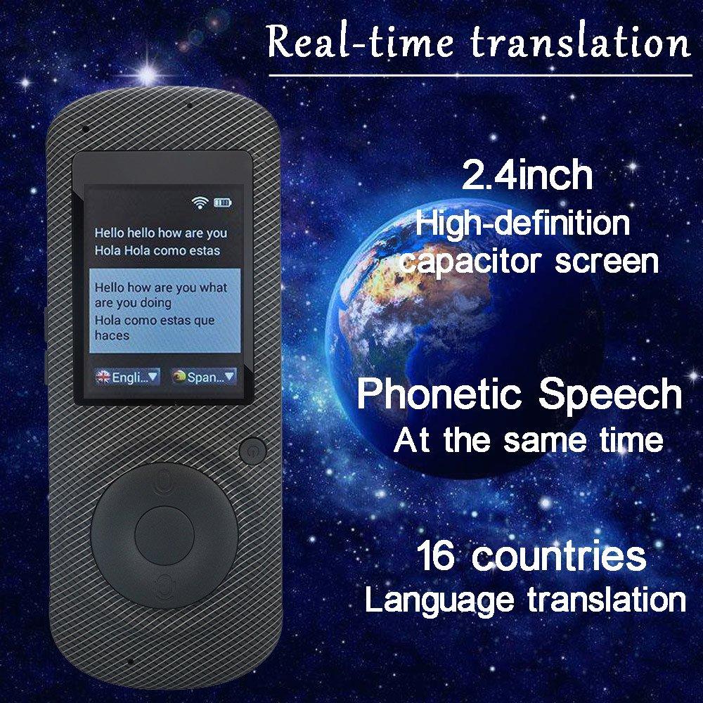 amazon com coohole smart language translator device voice