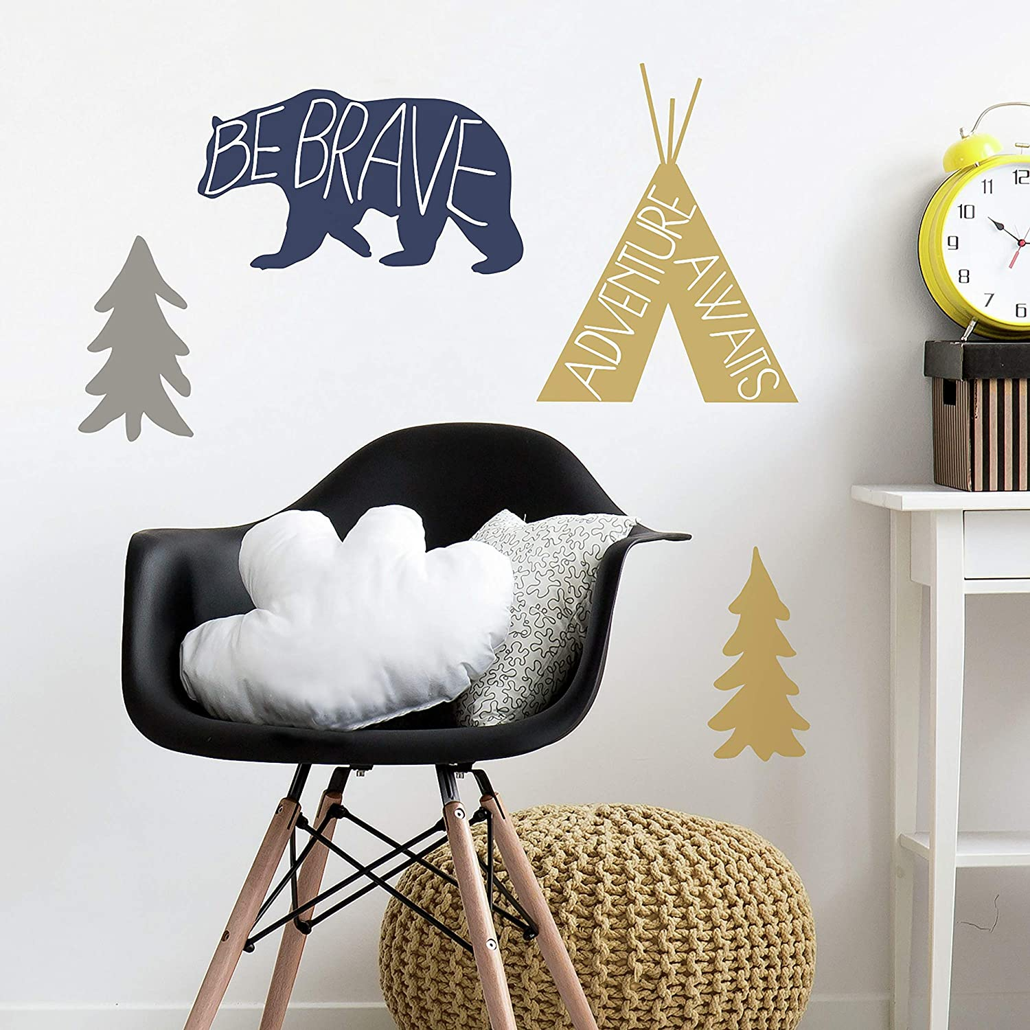 RoomMates Adventure Awaits Animal Peel And Stick Giant Wall Decals