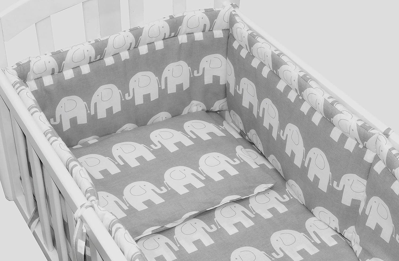 Grey Stars 6pcs BABY SWINGING// ROCKING CRIB //CRADLE BEDDING SET//ALL ROUND BUMPER 100/% COTTON!