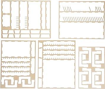 Geekmod gemins10 Organizador Compatible con Robinson Crusoe Juego de Cartas: Amazon.es: Juguetes y juegos