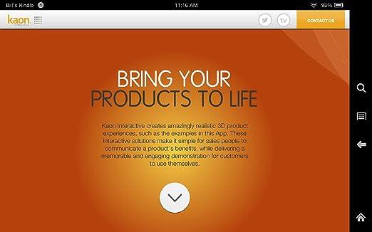 Kaon 3D Product Showcase
