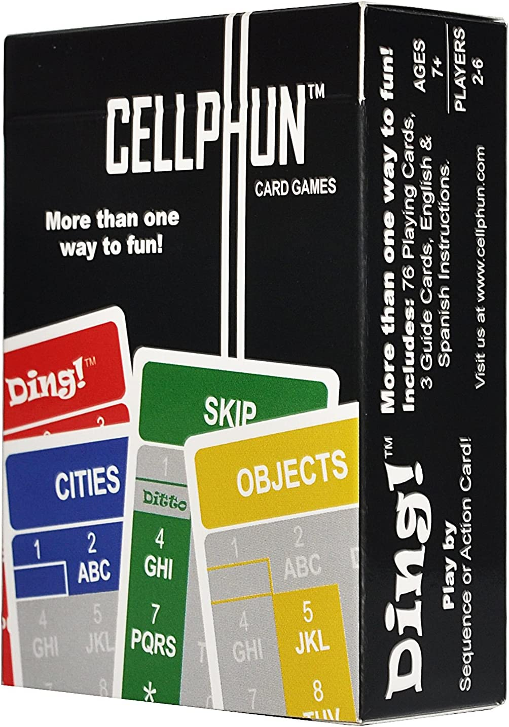 Amazon Com Cellphun Game Deck New Portable Strategy Trick Taking Card Games Like Uno And Scattergories It S Fast Easy To Play And Lots Of Fun But With More Game Elements Home Audio
