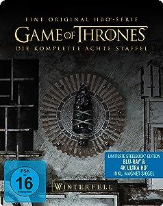 Game of Thrones - Staffel 8 - Limited Steelbook-Edition(3 Blu-ray 4K Ultra HD + 3 Blu-ray 2D) [Alemania] [Blu-ray]