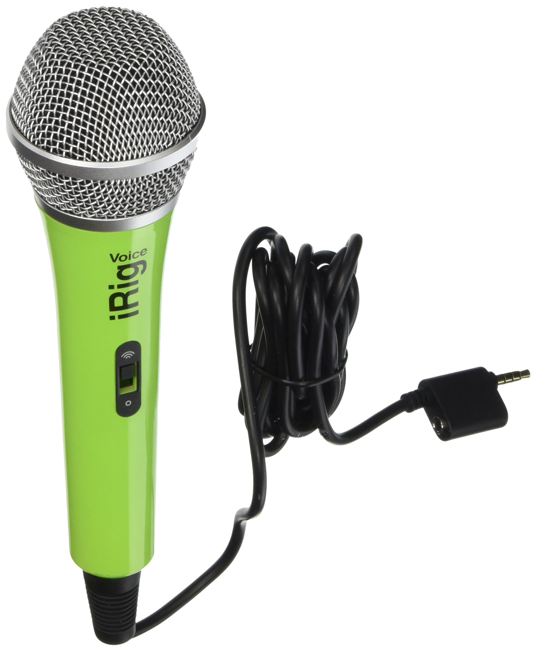 IK Multimedia IRIGMICVOGIN iRig Voice Microphone, Green