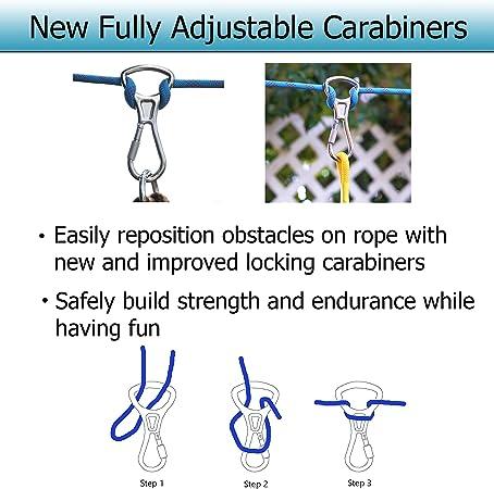 Amazon.com: Ninja – Kit de barra de cuerda de mono para ...