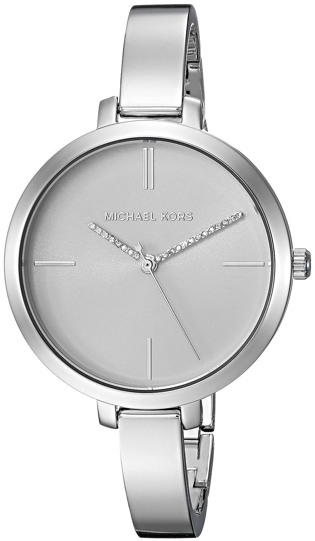 Michael Kors Women s Jaryn Quartz Watch with Stainless-Steel Strap, Silver, 24 Model MK3733