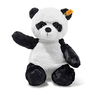 "Steiff 12"" Stuffed Panda - Soft And Cuddly Plush Animal Toy - 12"" Authentic Steiff: Toys & Games"