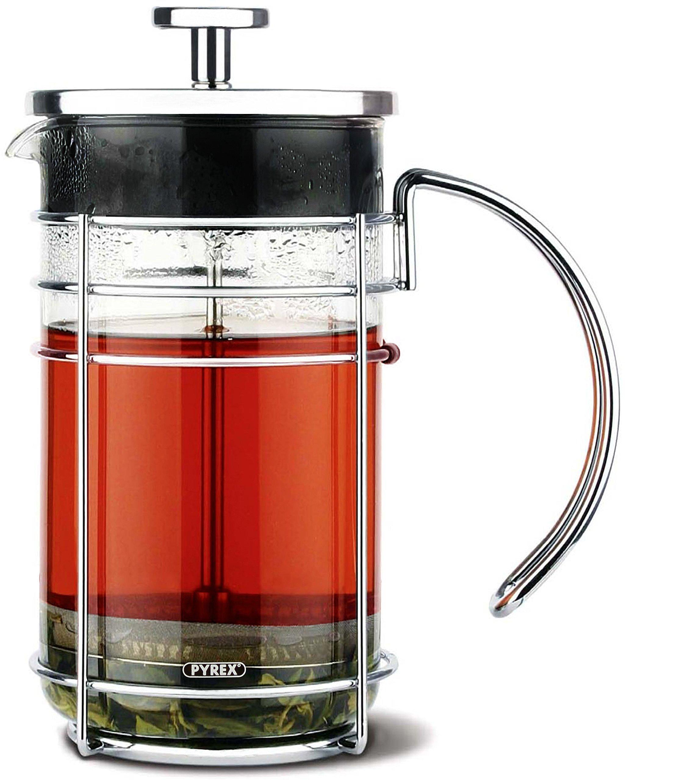 GROSCHE Madrid French Press Coffee Maker, Tea Press & Coffee Press 8 cup 34 oz 1L with Pyrex Glass