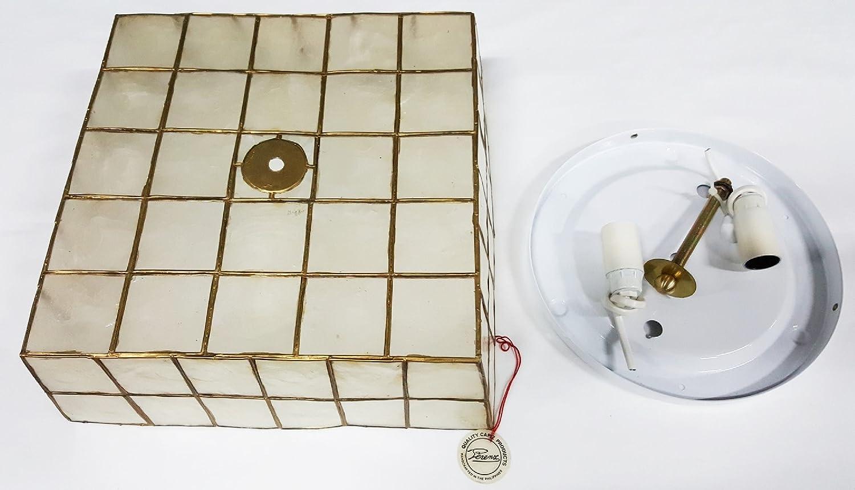 Lámpara de techo de nácar - Perenz, casquillo E14 (X2 ...