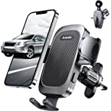 Anwas Car Phone Holder, Never Fall Strong Grip Hook Air Vent Phone Mount, [Big Phone and Thick Cases Friendly] Phone Cradle,