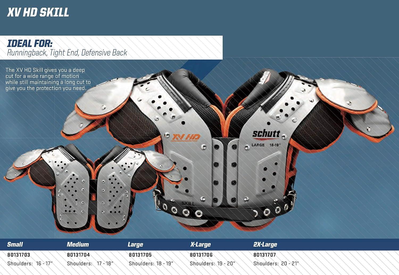 Schutt Sports XV HD Varsity Football Shoulder Pads