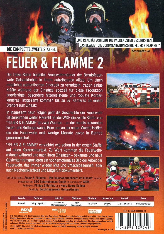 Feuer Und Flamme Mit Feuerwehrmannern Im Einsatz Staffel 2 Dvd