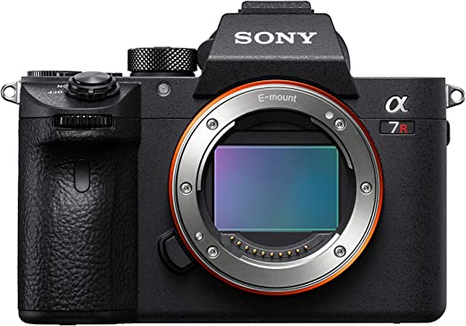 "Amazon.com : Sony a7R III Mirrorless Camera: 42.4MP Full Frame High Resolution Interchangeable Lens Digital Camera with Front End LSI Image Processor, 4K HDR Video and 3"" LCD Screen - ILCE7RM3/B Body, Black : Camera & Photo"