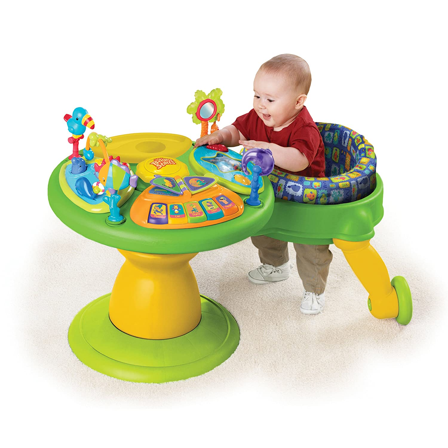 Amazon Bright Starts Around We Go Activity Station Tropical