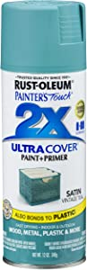 Rust-Oleum 316292 Painter's Touch 2X Ultra Cover, 12 oz, Vintage Teal
