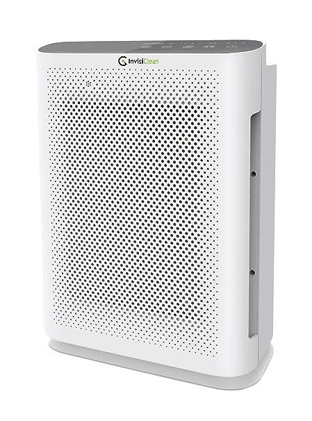 InvisiClean Aura II Air Purifier - 4-in-1 True HEPA, Ionizer,