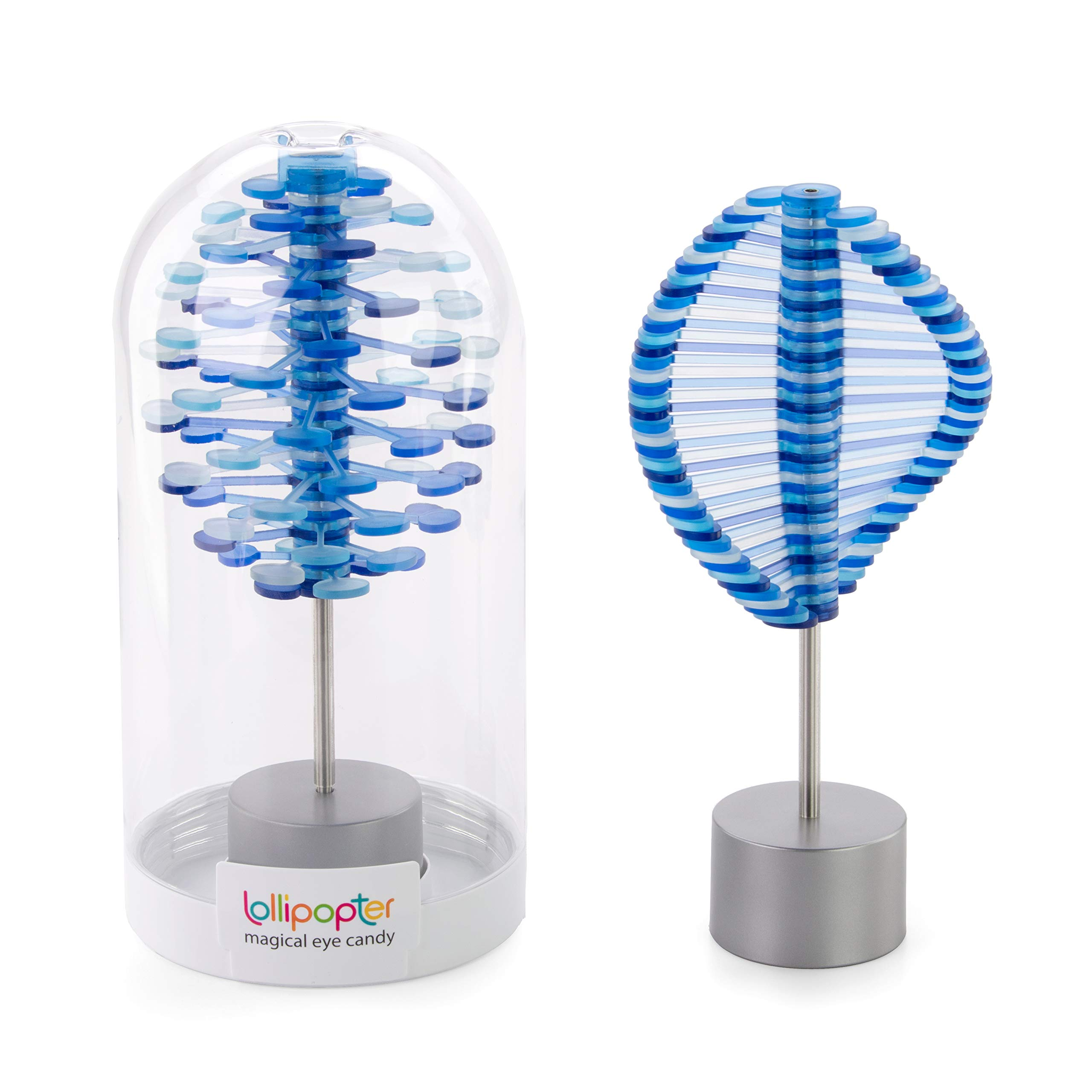 PLAYABLE ART Lollipopter - Huckleberry Spin Translucent (Domed Tube Packaging) by PLAYABLE ART