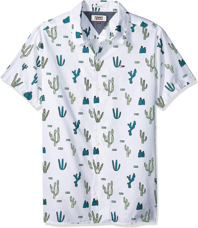 Tommy Hilfiger Summer Print Camp Camisa para Hombre
