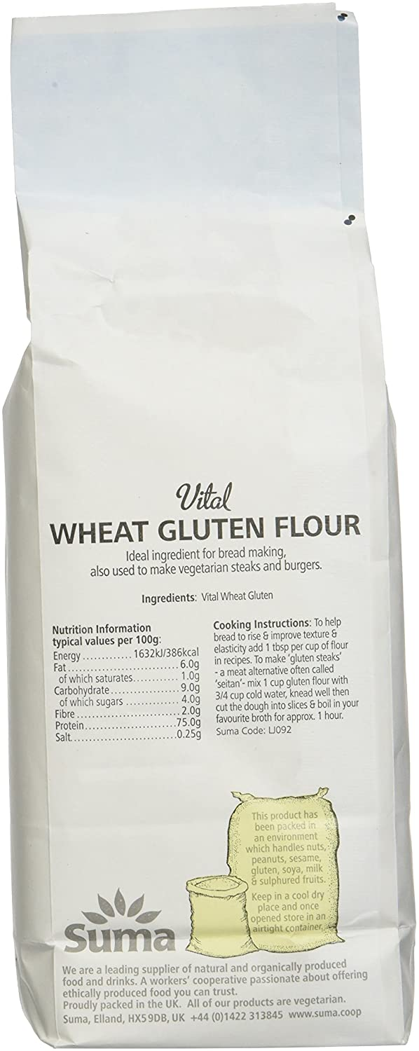 Vital Wheat Gluten Nutrition 1 Cup Nutritionwalls