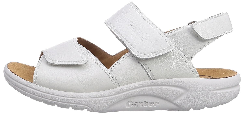 Ganter AKTIV FABIA Weite F 0200) Damen Sandalen, Weiß (Weiss 0200) F 980cc9
