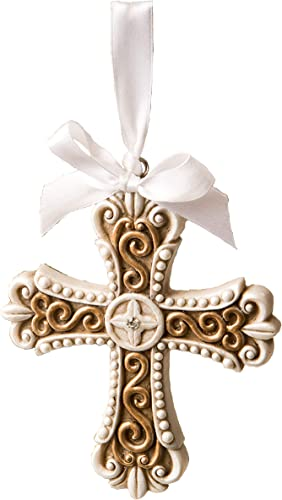 FavorOnline Stunning Vintage Design Cross Ornament, 36
