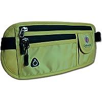 Coddiwomp Money Belt Body Wallet for Travel. High Quality Waterproof Pouch Hidden Security Belt Bum Bag Waist Bag for Valuables and for Passport.