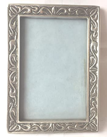 Amazon Mexican Pewter Metal Picture Frame Holder 3 X 5 Baby