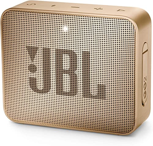JBL GO 2 Portable Bluetooth Waterproof Speaker – Champagne
