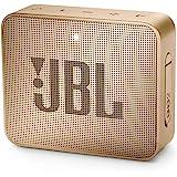 JBL Go 2 Portable Bluetooth Waterproof Speaker (Champagne), 184 Gm, JBLGo2Cpn