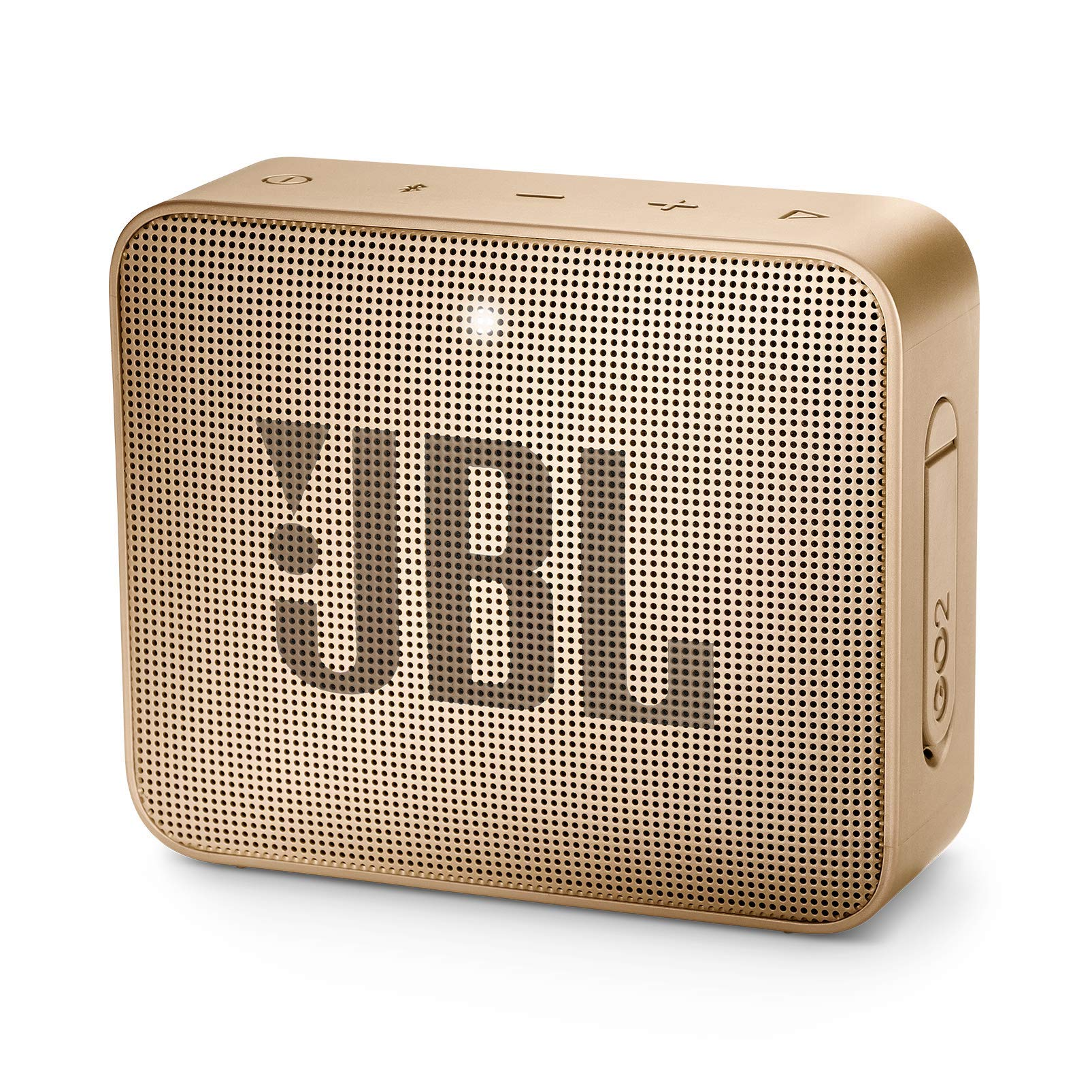 JBL JBLGO2CPN GO 2 Portable Bluetooth Waterproof Speaker (Champagne)