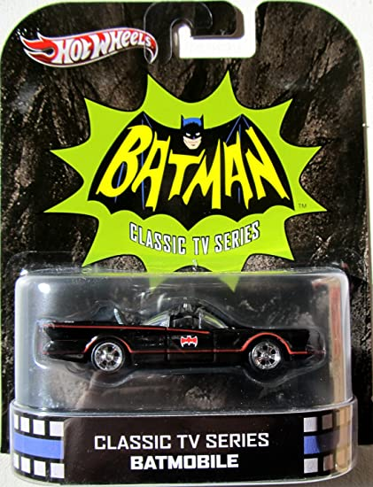 Hot Wheels 66 Batmobile 164 Scale Vehicle