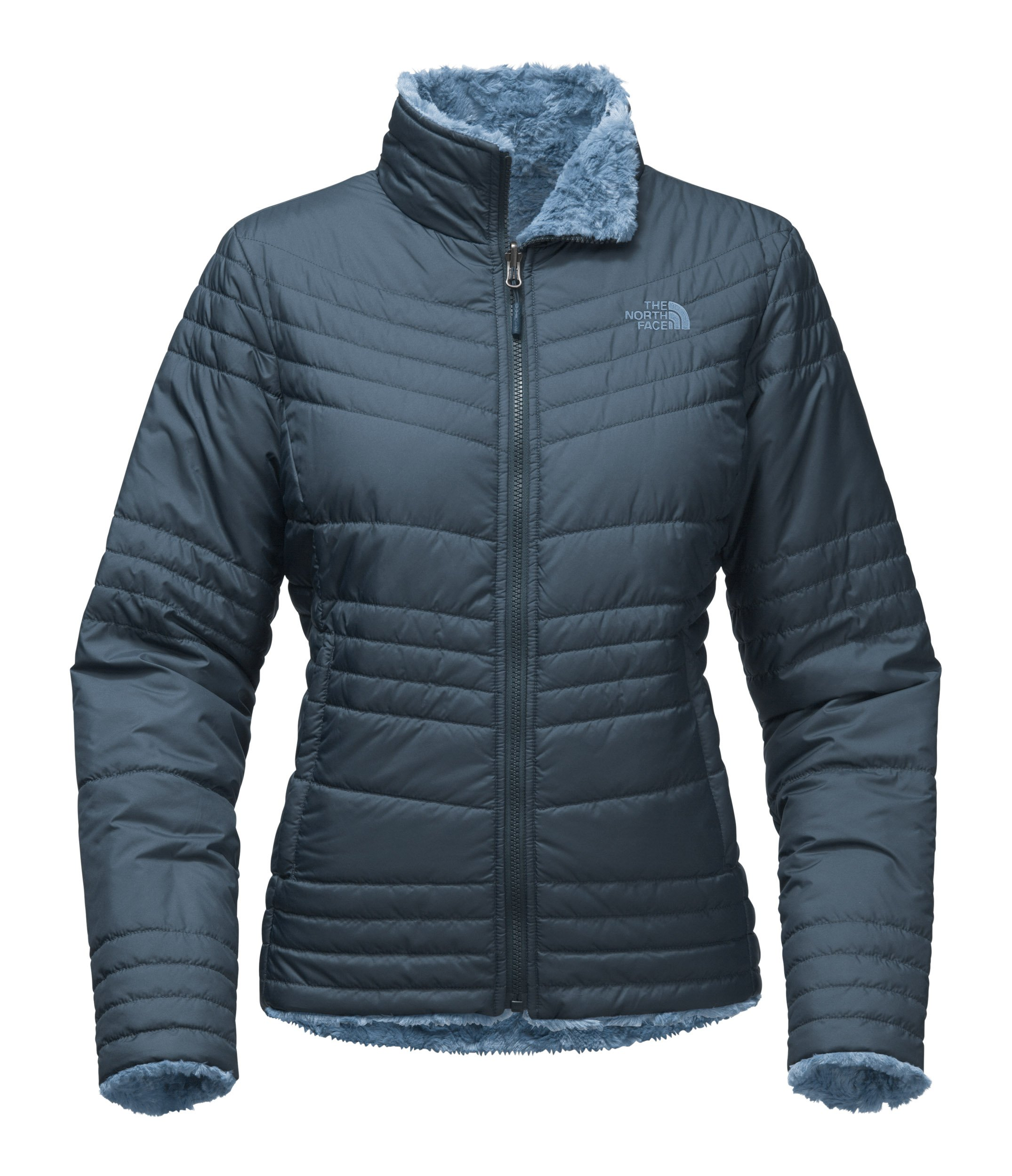The North Face Women's Mossbud Swirl Jacket Ink Blue Size Large