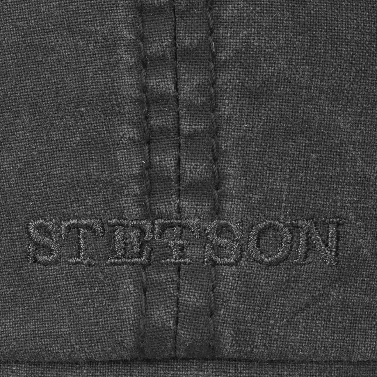 Stetson Organic Cotton Hatteras Bakerboy Cap In Burgundy or Blue 6841106