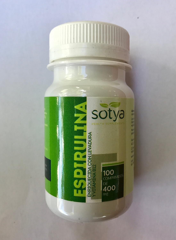 espirulina comprimidos 400 mg